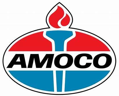 Logos Amoco Company Oil Gas Standard Stations