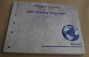 2001 Ford Escort Wiring Diagrams Evtm Service Manual Book