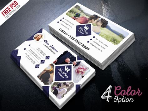 event planner business card  psd  psd freebies