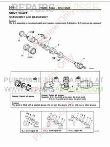 Mitsubishi Pajero Pinin Workshop Manuals Pdf Download