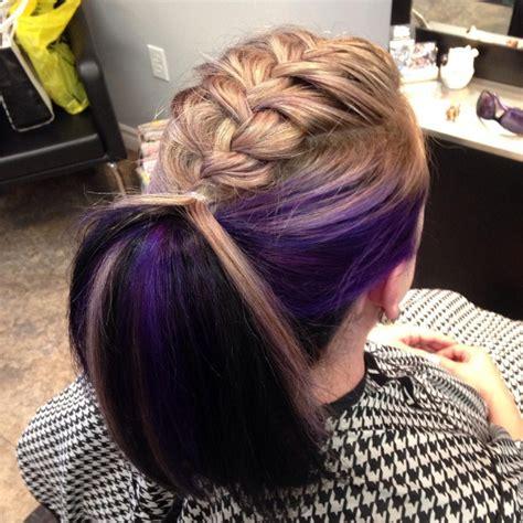 french braid ponytail haircut ideas designs