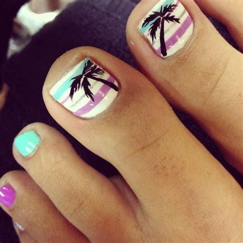 adorable easy toe nail designs  simple toenail art