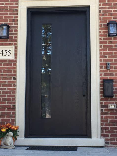 modern black exterior door ontario modern doors