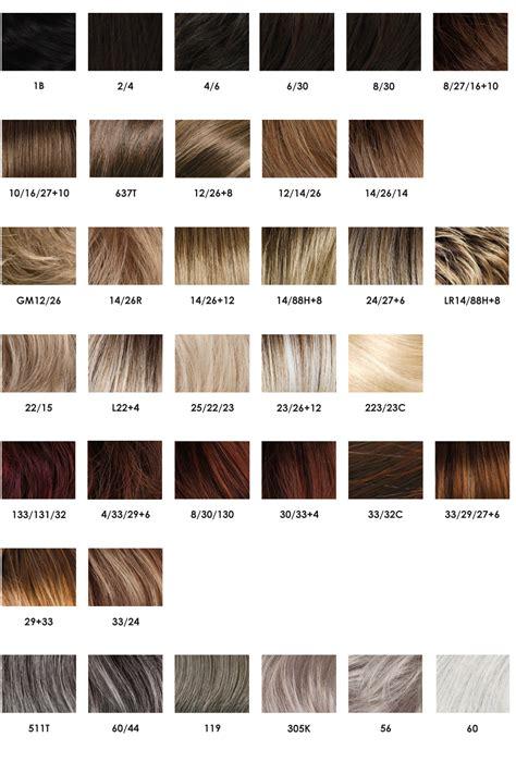 au comptoir des couleurs nuancier perruques gisela mayer