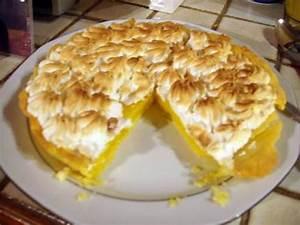 Recette Tarte Citron Meringuée Facile : recette de la tarte au citron meringu e ~ Nature-et-papiers.com Idées de Décoration