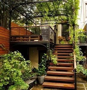 l39escalier exterieur en 57 photos qui vous feront rever With good decoration bois exterieur jardin 8 deco escalier interieur
