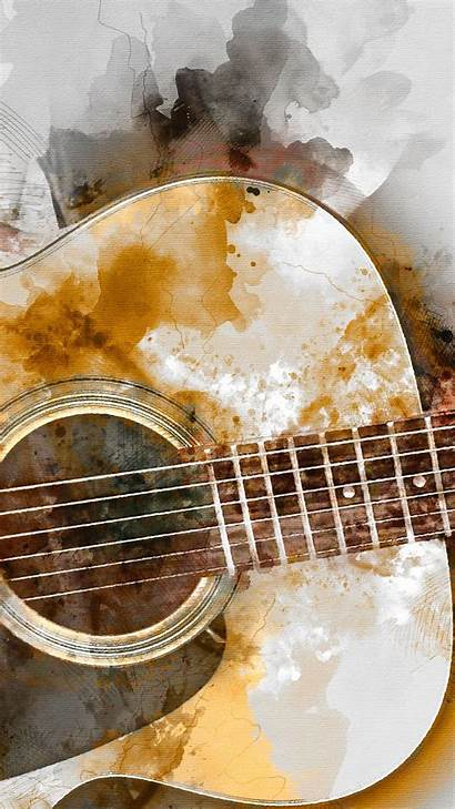 Guitar Painting Playing Backiee Wallpapers