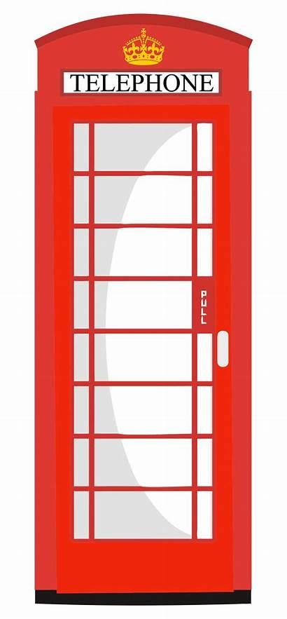 Telephone Booth Box Clipart Call Phone Clip
