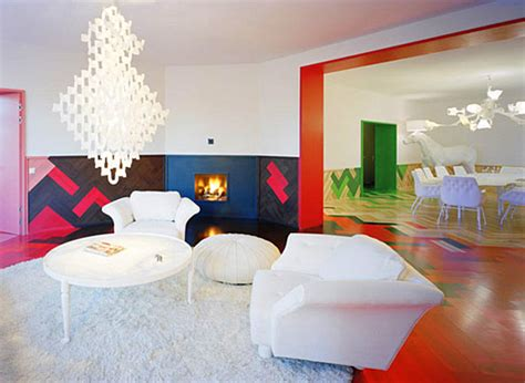 Colorful Interior Design by Rainbow Designs 20 Colorful Home Decor Ideas
