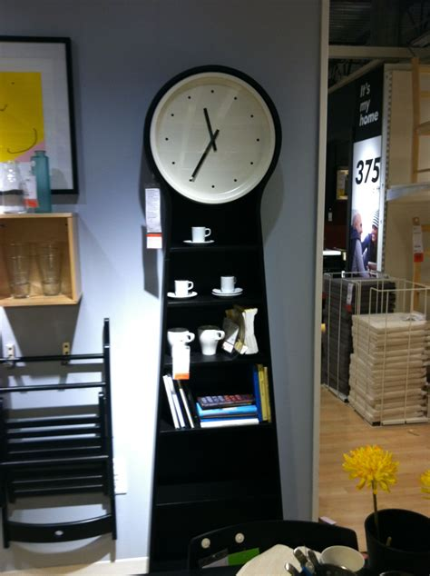 Ikea Clock Bookcase by Ikea Clock Bookshelf Home Clock