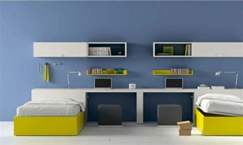 chambre ado bleu gris décoration chambre ado moderne en quelques bonnes idées