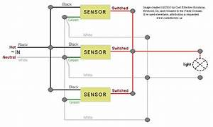 Ceiling Motion Sensor Wiring Diagram