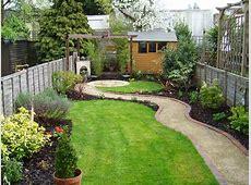 Small garden that was also a long thin garden Tuin