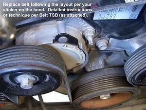 V Belt Rib Replacement Diy Sc430 - Clublexus