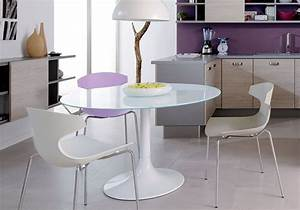 Tables et chaises de cuisine design advice for your home for Deco cuisine avec chaise design blanche