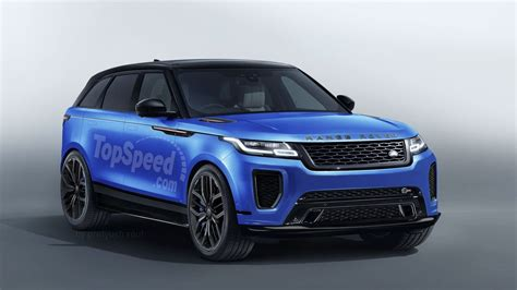 2019 Land Rover Range Rover Sport by 2019 Land Rover Range Rover Velar Svr Review Top Speed