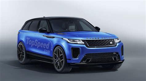 2019 Land Rover Range Rover Velar Svr Review  Top Speed