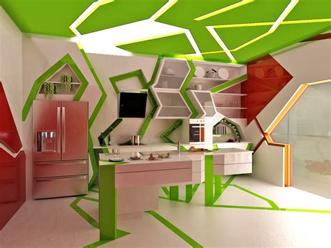 Green Home Design Ideas by Cubism In Interior Design