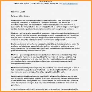 9-10 Nomination Letter Sample For Coworker