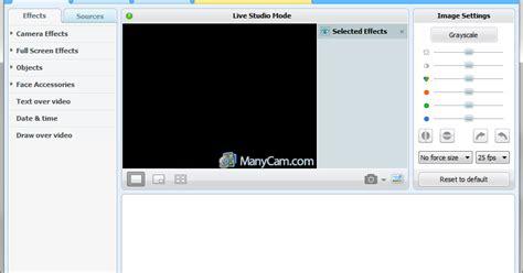 manycam pro serial web camera software