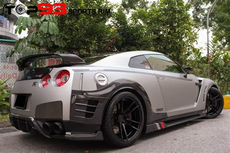 bc forged wheels heavy modified nissan gtr  bc