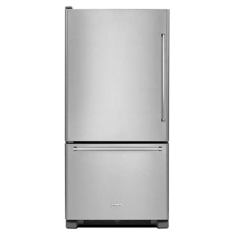 Shop Kitchenaid 2207cu Ft Bottomfreezer Refrigerator