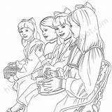 Coloring Pages Realistic American Doll Samantha Lilly Printable Print Lissie Getcolorings Getdrawings sketch template