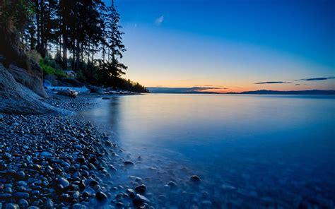 beautiful sunset sea sky scenery landscape  desktop