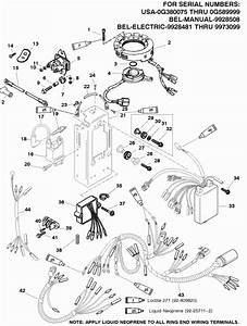 95 Hp Mercury Outboard Wiring Diagram Within Mercury