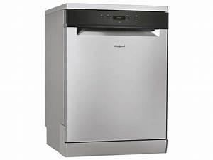Taille Standard Lave Vaisselle : lave vaisselle standard whirlpool wfc3c26x whirlpool vente de lave vaisselle conforama ~ Melissatoandfro.com Idées de Décoration
