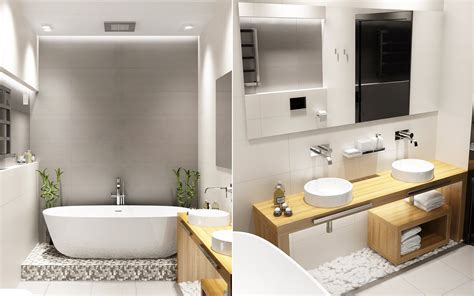 Modern Bathroom Looks by Bathroom Decor Ideas Which Show A Classic And
