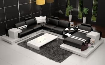 canaper but canape panoramique cuir salon presentation des