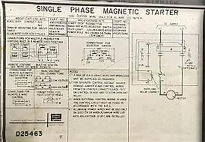 Wiring Powermatic Model 60 Jointer