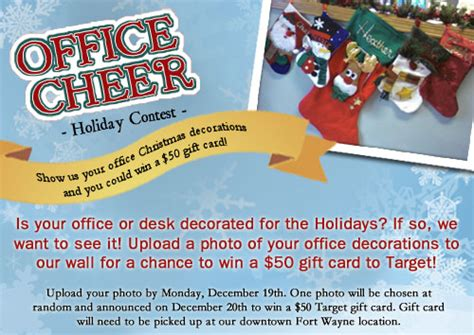flyers for office decorating contest flyer www gooflyers com