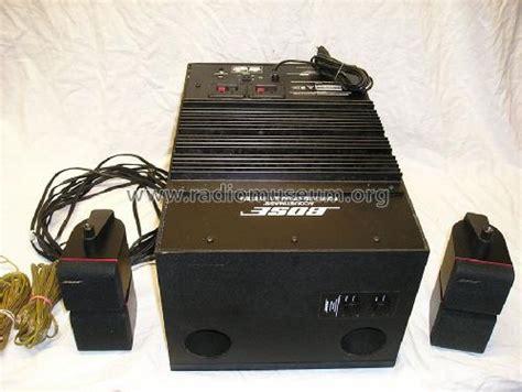 Acoustimass Powered System 2683-2 Speaker-P BOSE Corporation