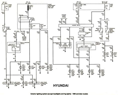 2005 hyundai sonata headlight wiring diagram wiring