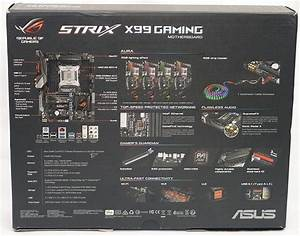 Asus Strix X99 Gaming Broadwell