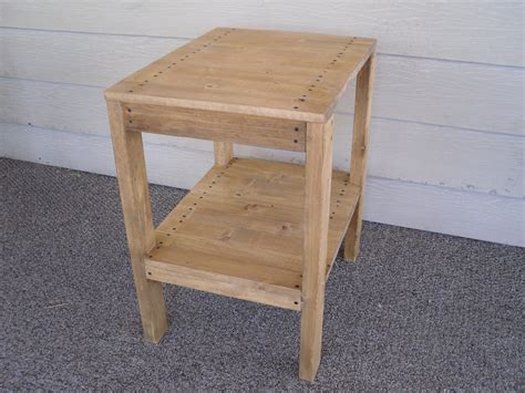 how to build an outdoor side table how to make a wood end table outdoor patio tables ideas