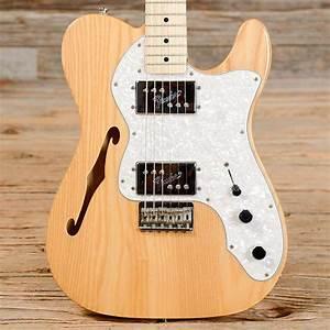 Fender Classic Series  U0026 39 72 Telecaster Thinline Natural