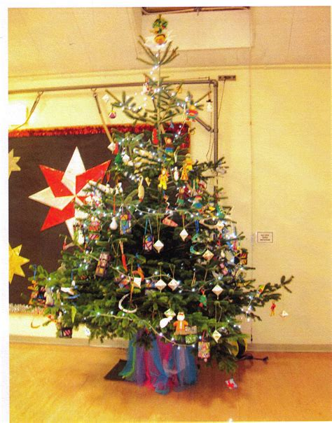 christmas trees donated to parish schools gwinear gwithian parish council