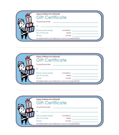 certificate of gift templates 31 free gift certificate templates template lab