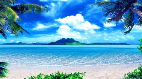 Beautiful Beach Scenes Wallpaper Wallpapersafari