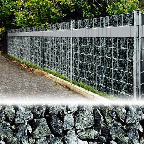 Sichtschutzfolie Garten by Sichtschutzfolie Sichtschutz Windschutz Zaunfolie