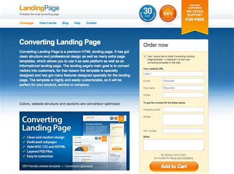 Examples Landing Pages Built For Lead Generation