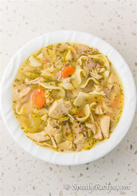 10 Best Chicken Noodle Soup With Egg Noodles Recipes