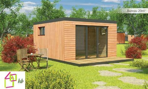 bureau de jardin pas cher prix extension bois 15m2
