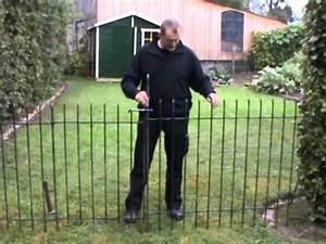 Kleiner Zaun Für Hunde : montageaneitung f r den steck und hundezaun modell anneau youtube ~ Frokenaadalensverden.com Haus und Dekorationen