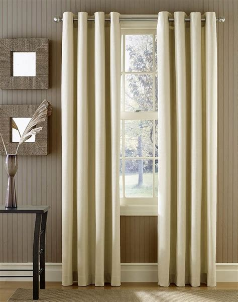 grommet curtains cotton canvas and curtains on