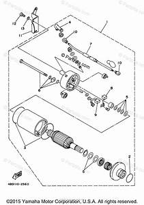 Yamaha Atv 1998 Oem Parts Diagram For Starting Motor