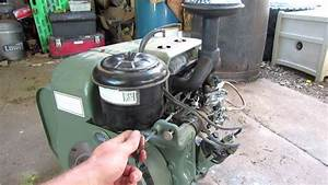 Wisconsin Tjd 18 2hp 2 Cylinder Air Cooled